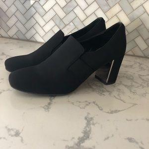 Donald J Pliner block heels pumps black size 7.5